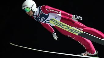 Simon Ammann schaffte es auch im zweiten Saisonspringen nicht in die Top 20