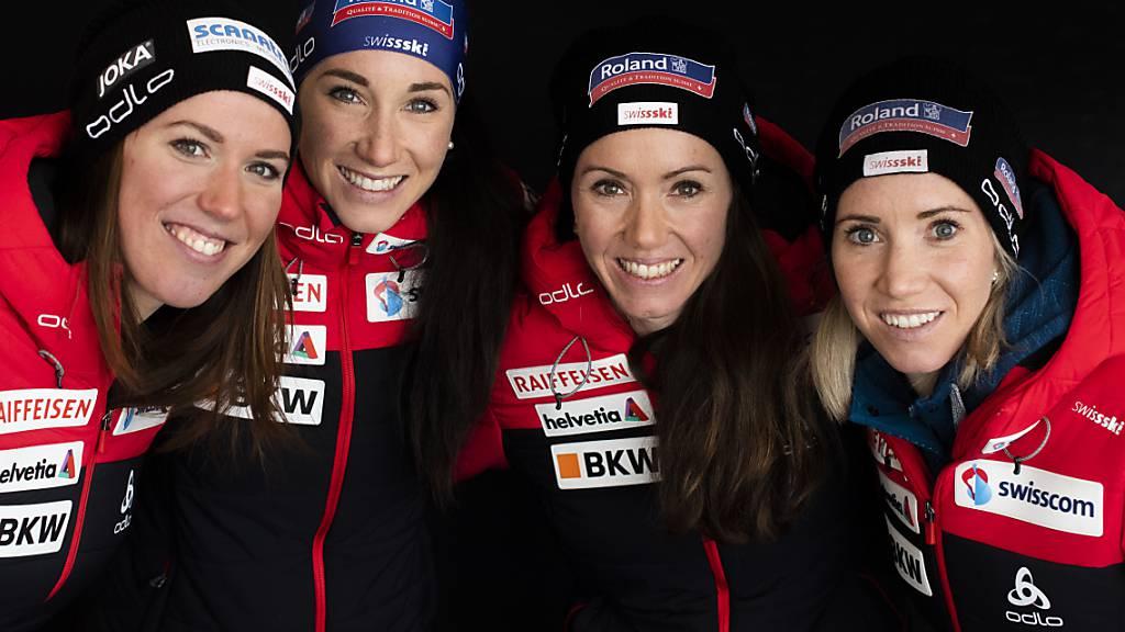 Schweizer Frauenstaffel läuft auf den 6. Platz