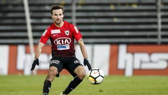 Michael Perrier  verlässt nach drei Jahren den FC Aarau.