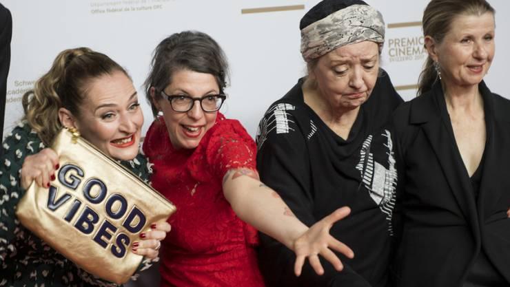 """Erfolgreich unterwegs: """"Die Göttliche Ordnung"""" von Regisseurin Petra Volpe (2.v.l.) wird bald in den amerikanischen Kinos gezeigt. (Archivbild)"""