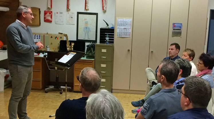 Mit zwei Anlässen informierte der Musikverein Gretzenbach über das Projekt Bläserklasse für Erwachsene.