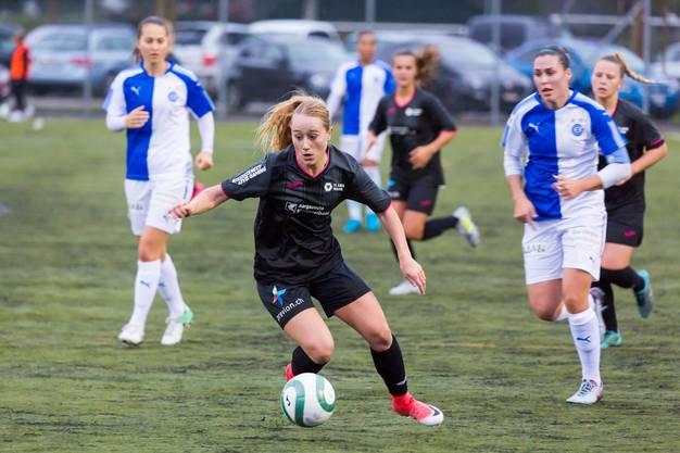 Julia Höltschi FC Aarau Frauen vs. GC