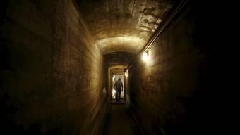 Tunnel unterhalb der Gegend um Walbrzych: Hier irgendwo soll sich der vermutete Nazi-Zug befinden.