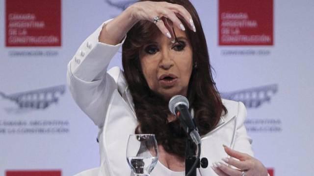 Argentiniens Staatschefin Cristina Fernández de Kirchner (Archiv)