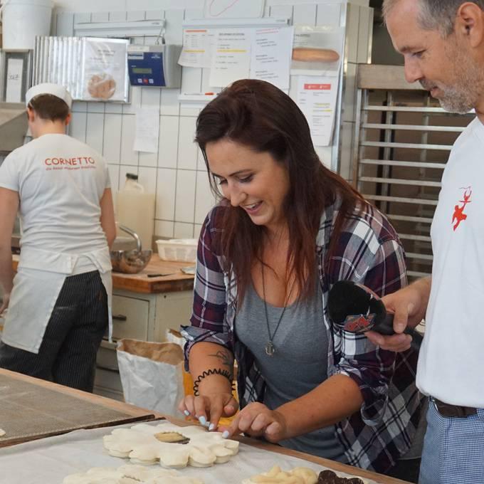 In der Cornetto Bäckerei bei Hans Jenny