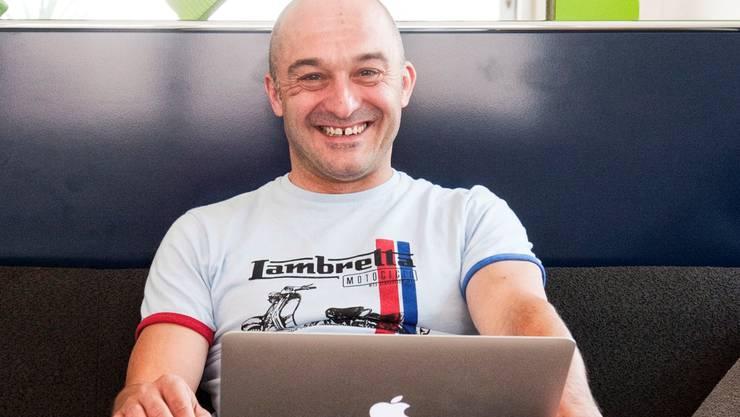 Pascal Mangold, CEO und Firmengründer.