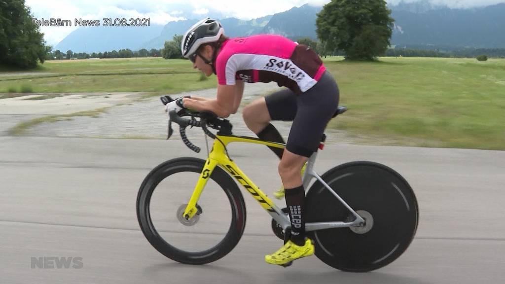 Ganze Nacht durchgefahren: Extrem-Velofahrerin Isa Pulver stellt zehn neue Weltrekorde auf