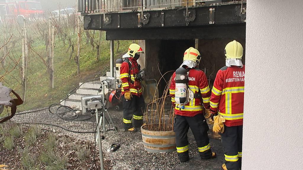 Marbach (SG): Brand im Einfamilienhaus - mehrere 10'000 Franken Sachschaden