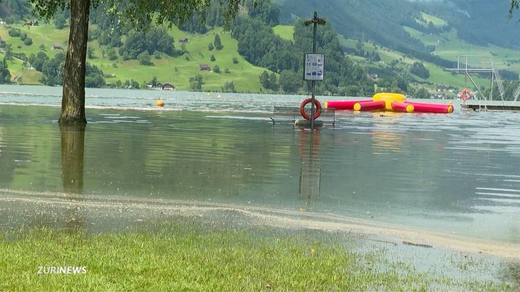 Hochwassergefahr steigt: Viele Gewässer sind übervoll
