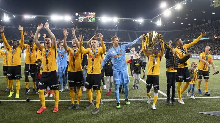 Stemmen die Young Boys zum dritten Mal in Folge den Meisterpokal in die Höhe?