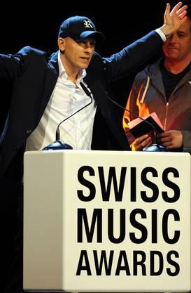 Der Swiss Music Award in der Kategorie Best Album Dance National ging an DJ Remady.