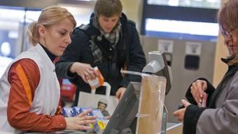 An den Migros-Kassen konnten die Kunden nicht mehr mit der EC-Karte bezahlen (Archiv).