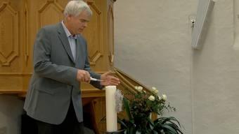 «Es war sehr emotional»: So hat Pfarrer Christian Bühler die Trauerfeier für die Opfer von Rupperswil erlebt.