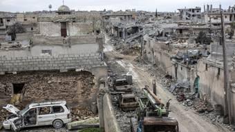 Kobane muss wieder aufgebaut werden.
