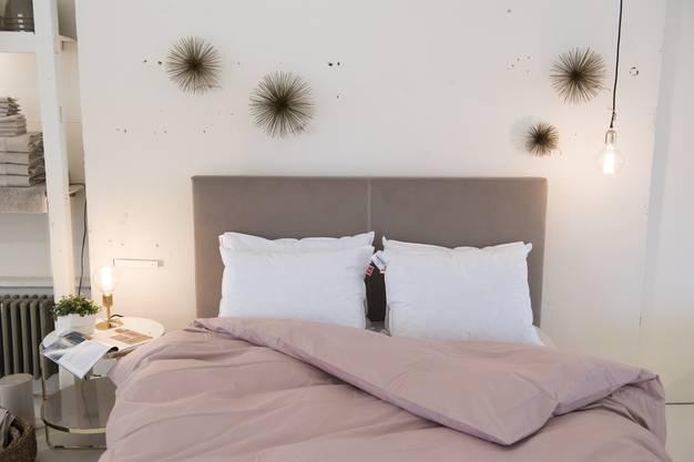 Das Möbelhaus bietet unter anderem Betten des italienischen Möbelproduzenten Flexform an.