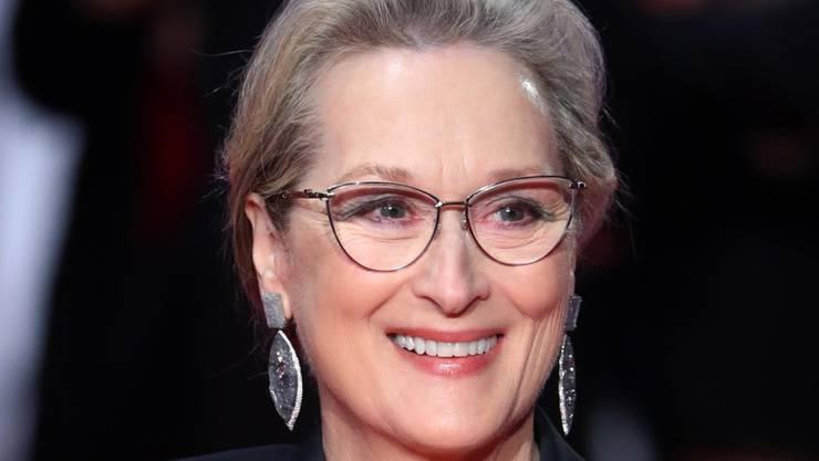 """Die amerikanische Schauspielerin Meryl Streep stösst zur bereits mit diversen Stars besetzten  Netflix-Komödie """"Don't Look Up"""". (Archivbild)"""