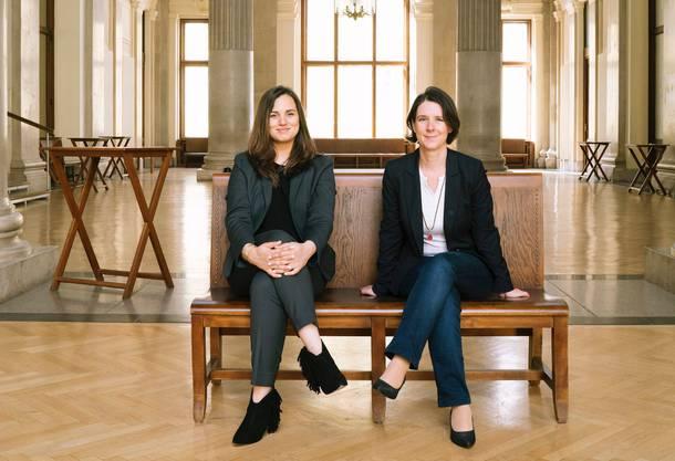 Angelika Slavik und Meike Schreiber sind die Autorinnen des neuen Buchs «Money Queen – der Geldplan für Chaos-Göttinen».