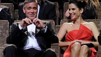 Gute Kollegen: George Clooney und Sandra Bullock (Archiv)