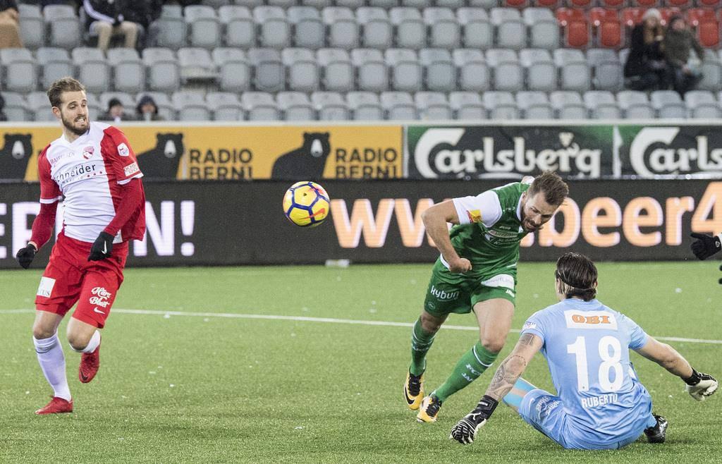 FC Thun gegen FC St.Gallen