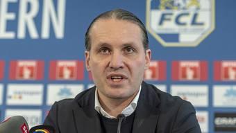 Luzerns Sportchef Remo Meyer gibt Auskunft zur Entlassung von Trainer Thomas Häberli