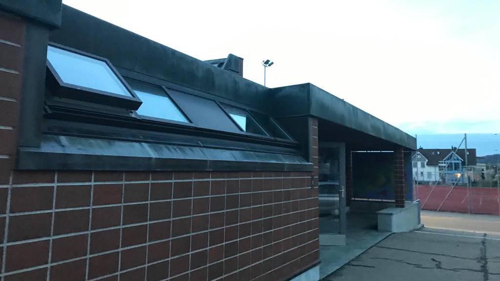 Ort des Geschehens - Die Dreifachturnhalle in Schöftland (© Radio Argovia)