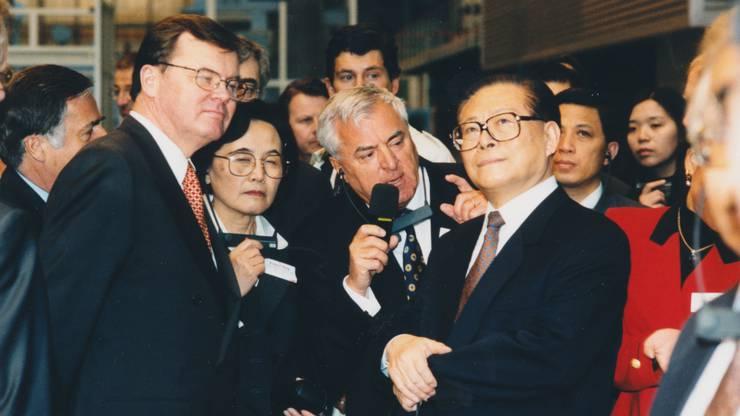 Die BBC hievte Birr auf die Karte der Weltwirtschaft. 1999 war Chinas Staatsoberhaupt Jiang Zemin im Werk zu Gast.