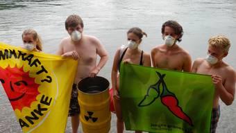 Walkampf Aktion von Junge Grüne Bündnis Nordwest