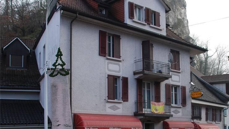 Die ehemalige Bäckerei Flückiger mit Laden und Tea-Room in der Klus wurde von den Einbrechern gleich zweimal heimgesucht.