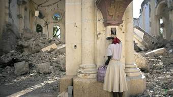 Vor zehn Jahren, am 12. Januar 2010, hat ein schweres Erdbeben Haiti heimgesucht. Über 300'000 Menschen kamen ums Leben. (Archivbild)
