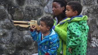 Impressionen vom Schlössertag auf dem Schloss Hallwyl