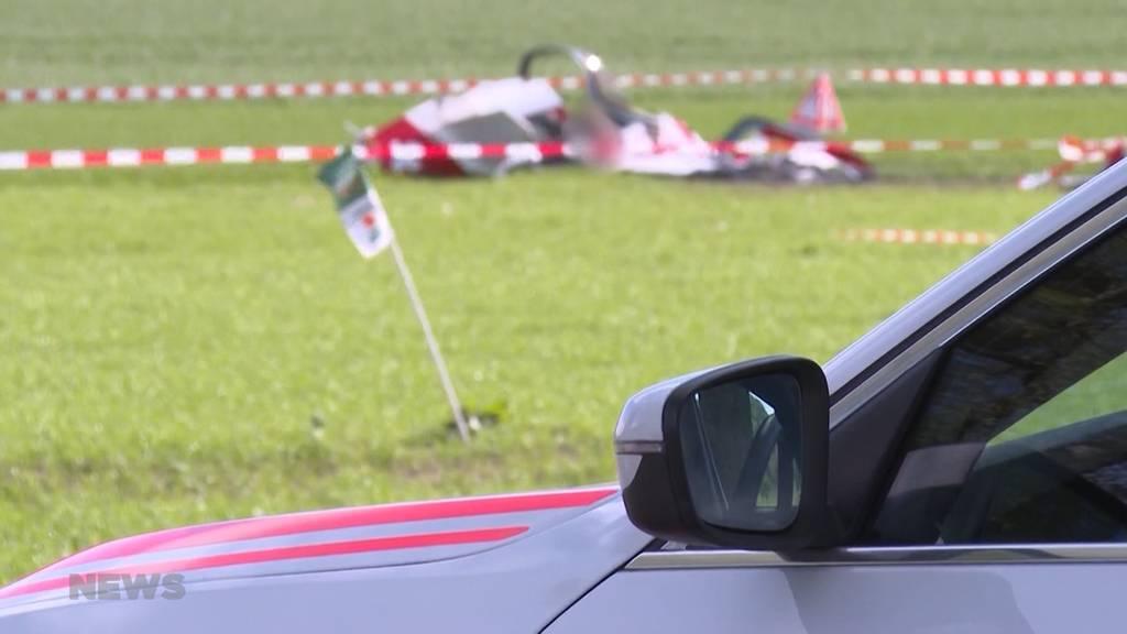Flugzeugabsturz in Oberramsern: Die beiden Verunglückten waren für Lärmmessungen unterwegs