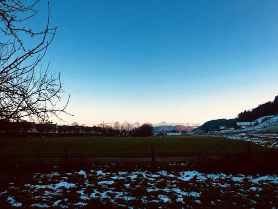 Was für ein Tag an Eiger, Mönch und die Jungfrau(en)! (7.12.207)