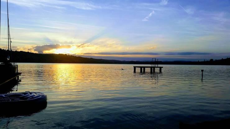 Mit diesem Sonnenuntergang lässt sich der Feierabend besonders gut ausklingen.