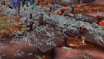 Als hätte die Pest gewütet. Szenen aus «World of Warcraft».