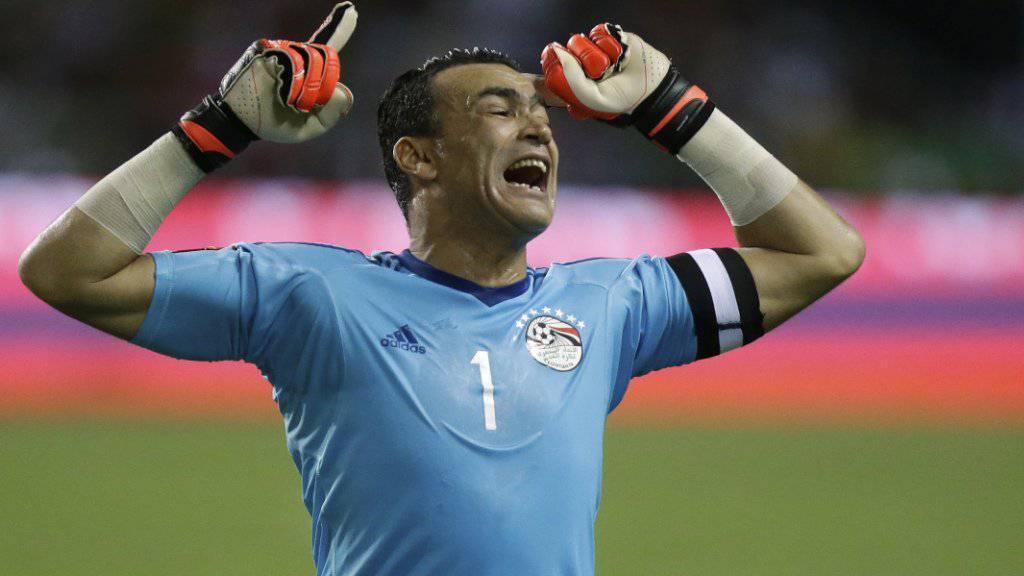Keiner freut sich so schön wie Essam El-Hadary
