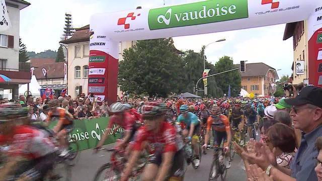 Tour de Suisse durchs Sendegebiet
