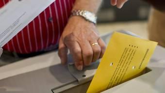 In Aarau ist bereits knapp die Hälfte der möglichen Stimmen eingetroffen. Das sind 6800 von 13800 stimmberechtigten. (Symbolbild)