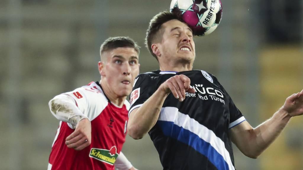 Aufsteiger Bielefeld feiert wegweisenden Sieg