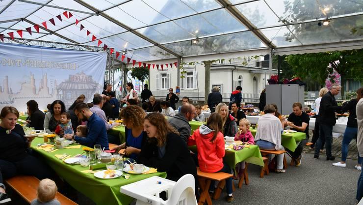Impressionen vom zweiten Tag des Stadtfests Brugg 2019 am 24. August 2019.