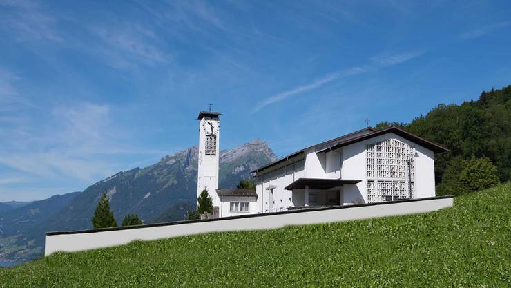 Hier in der katholischen Kirche Obbürgen war der Pfarrer seit 2014 tätig.