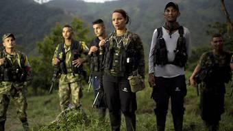 Rückkehr ins zivile Leben: Kinder in den Reihen der FARC-Rebellen sollen die Guerilla-Lager verlassen. (Archivbild)