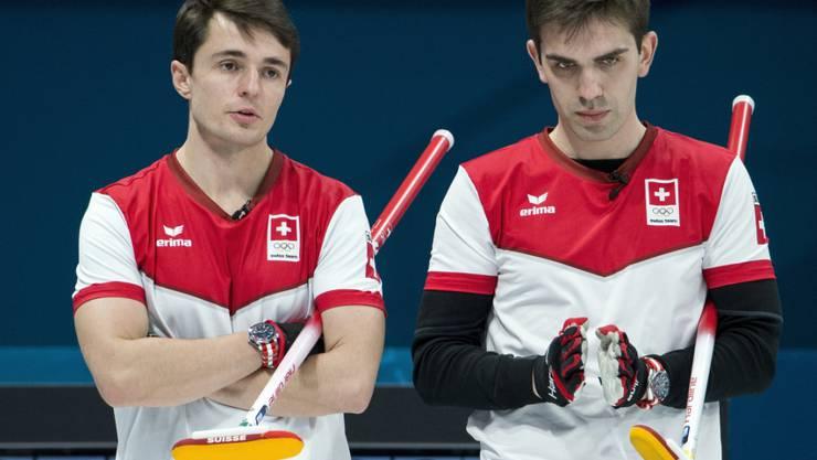 Die EM wird für Benoît Schwarz (links) und Peter De Cruz zur kniffligen Sache