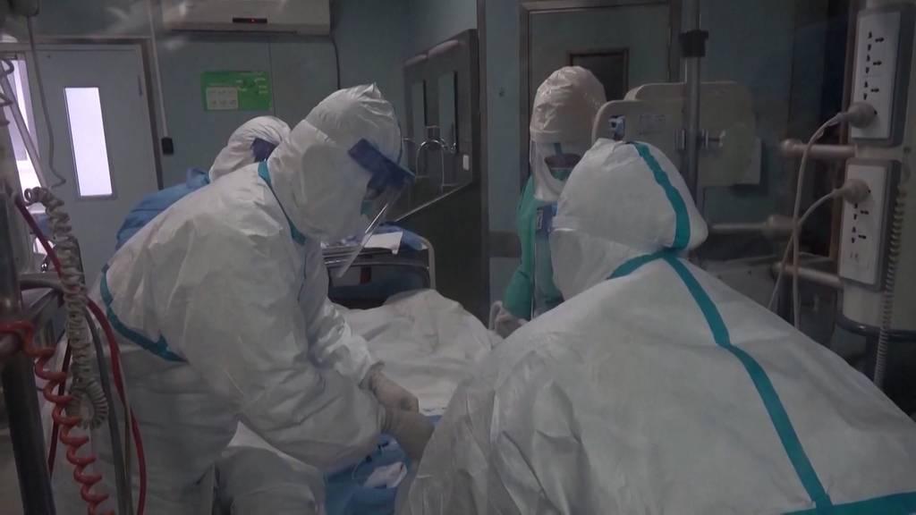 China: Mehr als 1'000 Tote durch das Coronavirus