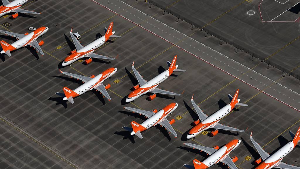 Easyjet verkauft Teil seiner Flugzeuge und least sie zurück