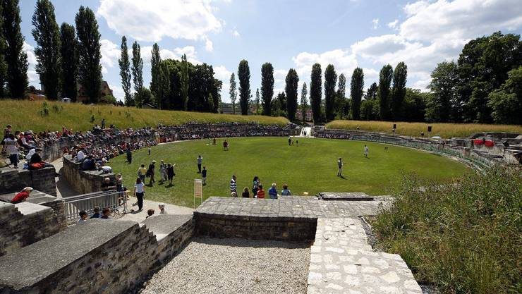 Das Amphitheater in Windisch