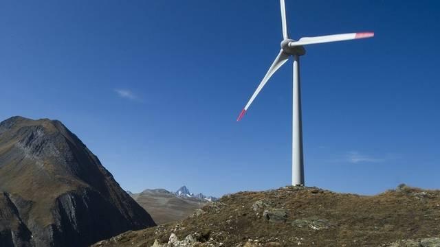 Solche Windturbinen könnte es auf dem Heitersberg doch noch geben (Archiv)