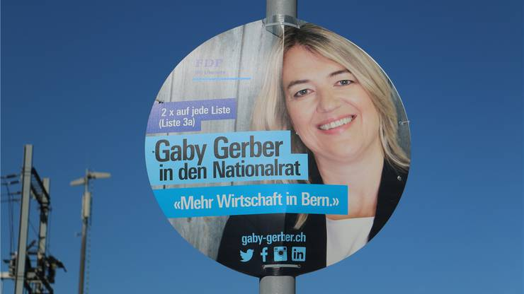 Kommt rund daher: Gaby Gerber.