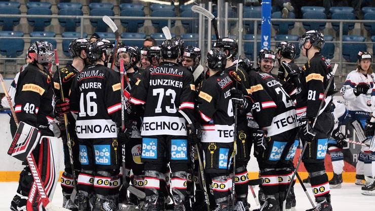 Der EHC Basel besiegt den EHC Dübendorf gleich mit 6:1.