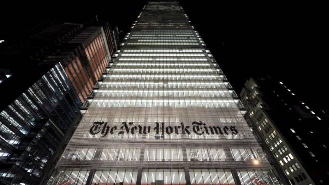 Steigt ins Geschäft mit Mahlzeiten zum Selberkochen ein: «New York Times». Foto: Keystone/EPA/Justin Lane