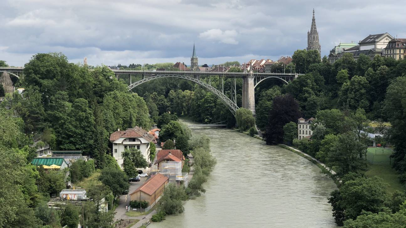 Die Aare in Bern